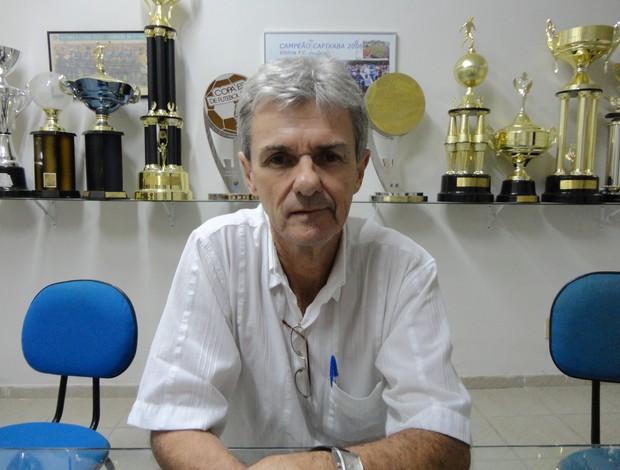 Dr. Jairo Ribeiro, presidente do Vitória-ES (Foto: Richard Pinheiro)