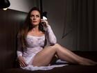 Aos 43 recém-completados, Núbia Óliiver garante: 'Estou mais gostosa'