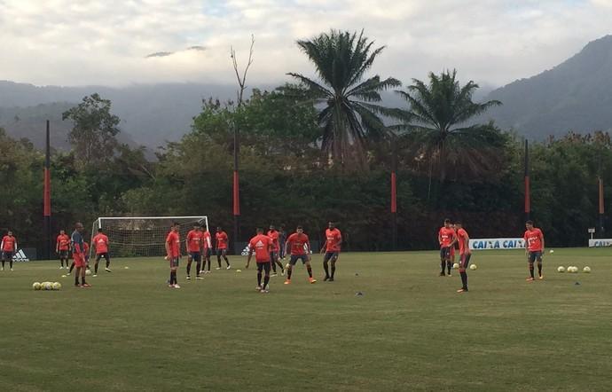 Treino Flamengo 27 de junho (Foto: Richard Souza)