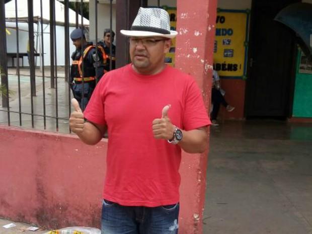 Genival Cruz (PSTU) candidato à Prefeitura de Macapá (Foto: Genival Cruz/Divulgação)