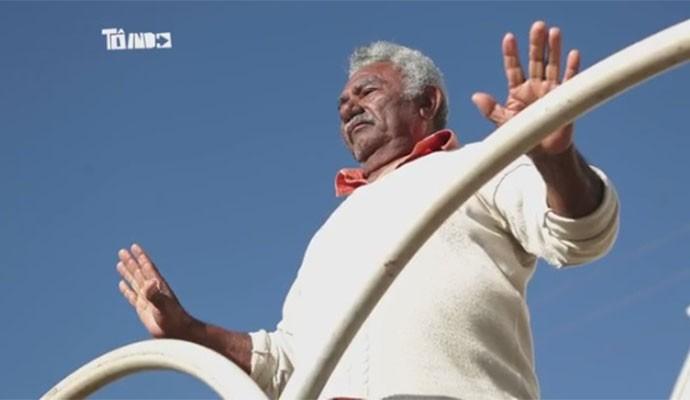 Moisés Paulino tem 76 anos e mora em Campos Altos, Minas Gerais (Foto: Divulgação   Tô Indo)