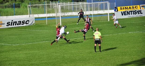 Guarani de Palhoça 0 x 1 Juventus, pela sétima rodada do Campeonato Catarinense 2013 (Foto: Cristina Estefano / SERC Guarani de Palhoça)