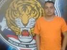 Polícia prende suspeito de assaltar agência bancária no Maranhão
