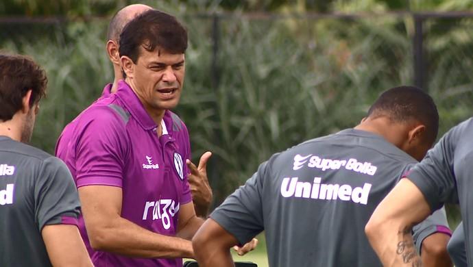 Ronaldo Guiaro, técnico interino XV de Piracicaba (Foto: Jefferson Barbosa/ EPTV)
