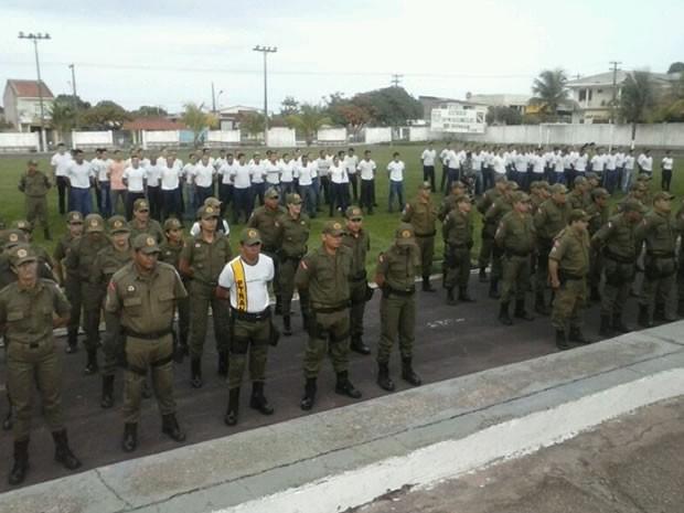 Cerimônia foi realizada na manhã desta quinta-feira (14), no quartel da corporação. (Foto: Débora Rodrigues/TV Tapajós)