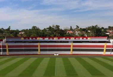 Estádio Santa Cruz, botafogo futebol clube (Foto: Rogério Moroti/Ag. Botafogo)