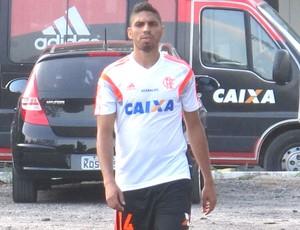 Wallace Novo Visual Flamengo (Foto: Thales Soares)