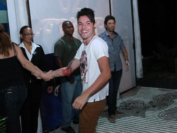 Ex-BBB Nasser em festa pós-BBB no Rio (Foto: Raphael Mesquita e Clayton Militão/ Foto Rio News)