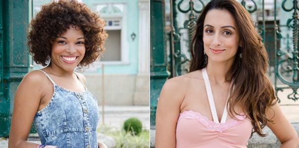 Carolina Bezerra interpreta Dora e Camila Lucciola é  (Foto: Divulgação/ TV Globo)