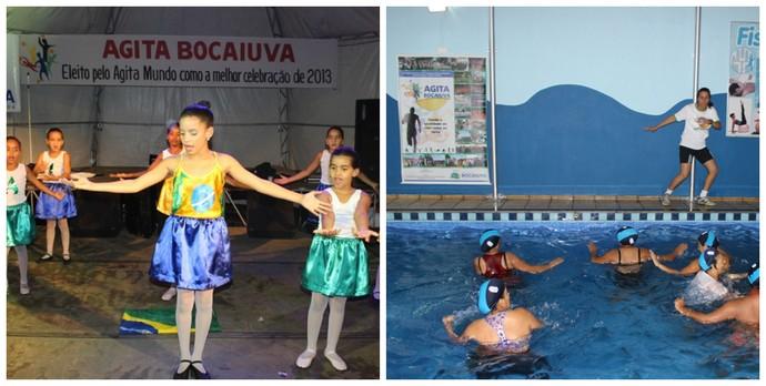 Em um só dia estudantes e comunidade realizando diversas atividades nas mais variadas modalidades esportivas (Foto: Carlos Otávio de Oliveira)
