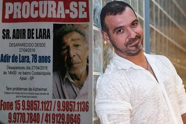 Sr. Adir de Lara, tio de Vagner Lara (Foto: Arquivo pessoal/ Divulgação)