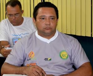 João Carlos Passos, presidente do Alto Acre (Foto: Duaine Rodrigues)