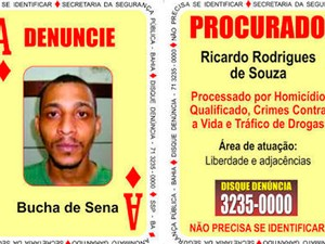Ricardo Rodrigues de Souza (Foto: Divulgação/SSP-BA)