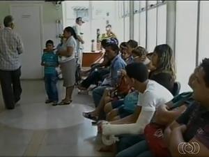 Hospital Regional de Araguaína é o mais precário, segundo fiscalização (Foto: Reprodução/TV Anhanguera)