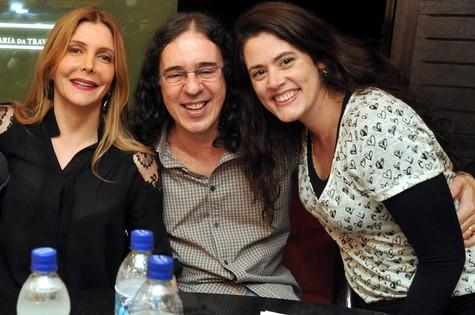 Maria Padilha, Geraldinho Carneiro e Ana Paula Pedro  (Foto: Cristina Granato)