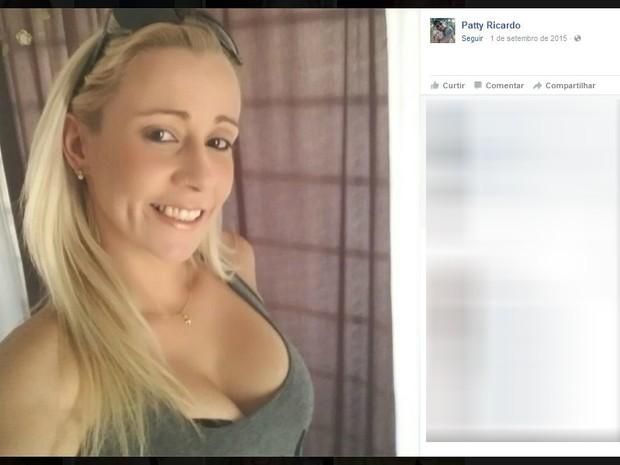 Mulher morreu esfaqueada em Borborema (Foto: Reprodução/Facebook/Patty Ricardo)