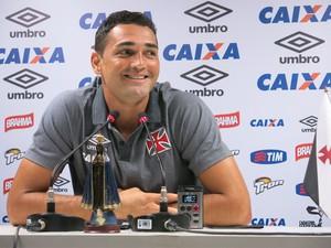 Gilberto coletiva do Vasco (Foto: Edgard Maciel)