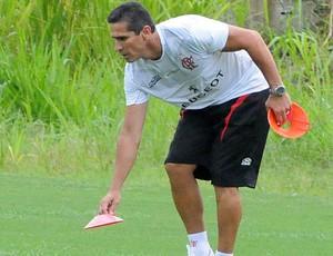 Jorginho treino Flamengo (Foto: Alexandre Vidal / Flaimagem)