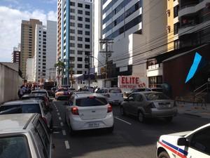 Protesto em Salvador (Foto: G1)