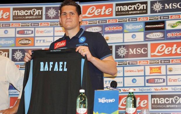 Rafael Apresentação Napoli (Foto: Divulgação / Site oficial do Napoli)