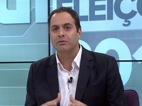 Paulo Câmara, candidato do PSB ao governo de Pernambuco. (Foto: Reprodução / G1)