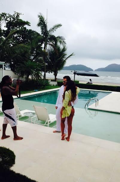 Joyce Pinheiro e Daddy Kall (Foto: Divulgação/Divulgação)
