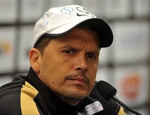 Treinador Claudinei Oliveira Santos (Foto: Ivan Storti / Santos FC)