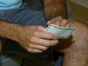 Eleitor de Paulínia ficou inconformado com erro, neste domingo (Foto: Reprodução / EPTV)