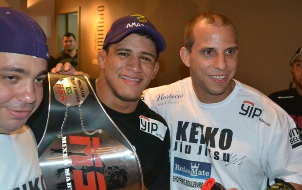 gilbert durinho alex gazé MMA Champions League (Foto: Ivan Raupp)