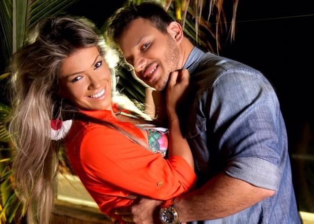 Fani e Leandro Dias (Foto: divulgação)