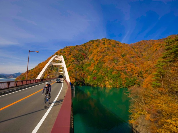Wilton conheceu 47 províncias japonesas em quatro meses (Foto: Wilton Mitsuo Miwa/ Arquivo Pessoal)