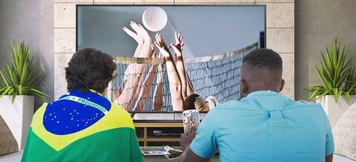 Aparelhos da Panasonic serão utilizados em arenas olímpicas (Foto: Divulgação/Panasonic)