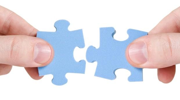 quebra-cabeça_casal_complemento_equipe (Foto: Shutterstock)