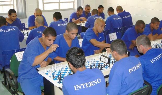 Sejus disse que a atividade é aplicada para mais de 3.500 detentos em 32 unidades prisionais do estado. (Foto: Divulgação/ Sejus)