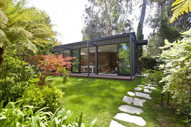 Ref gio praiano em forma de caixa casa vogue arquitetura - Casas con jardines ...