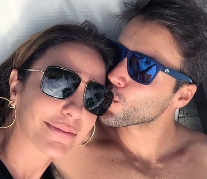 Ivete é casada há nove anos com o nutricionista Daniel Cady (Foto: Arquivo Pessoal)