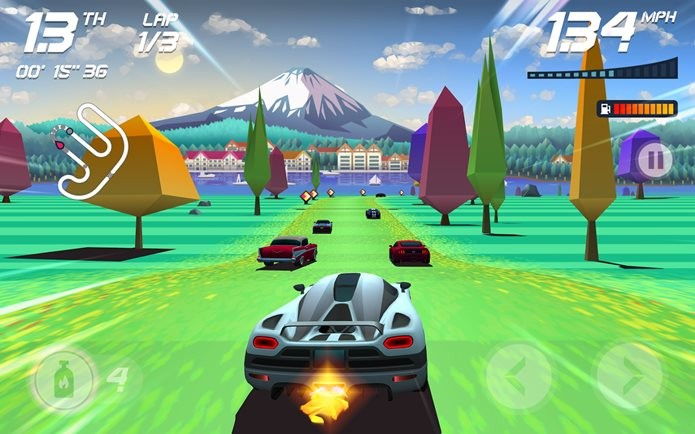 Game de corrida produzido por brasileiros é destaque internacional (Foto: Divulgação / Aquiris)