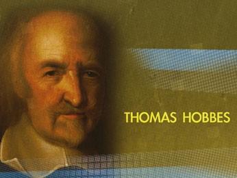 Hobbes acreditava que o homem não queria ser social (Foto: Reprodução / TV Globo)