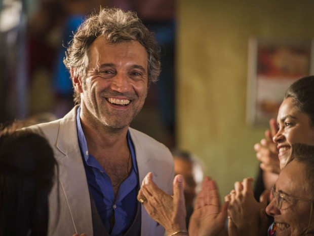 Domingos Montagner como o personagem Zyah, da novela 'Salve Jorge' (Foto: Alex Carvalho/TV Globo)