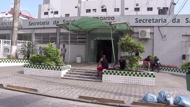 CREI segue com muitos problemas na cidade de São Vicente (Foto: Reprodução/TV Tribuna)