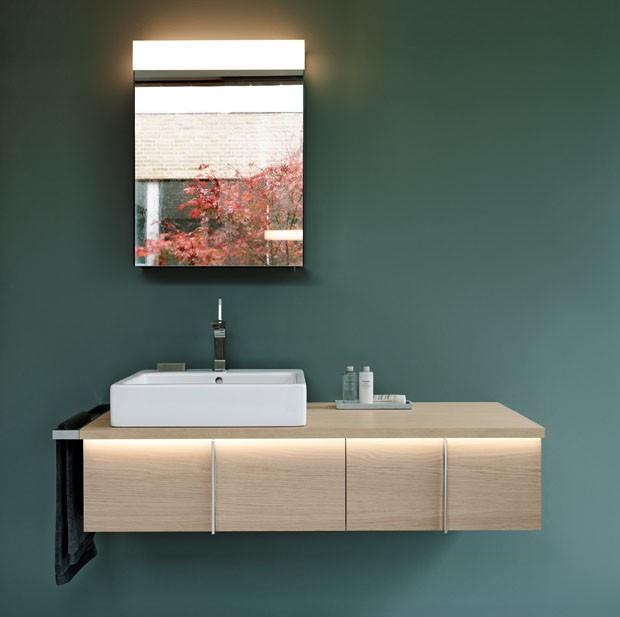 Harmonia em m veis para banheiro casa vogue design for Meuble salle de bain duravit