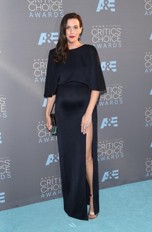 Liv Tyler em prêmio de cinema em Los Angeles, nos Estados Unidos (Foto: Jason Merritt/ Getty Images/ AFP)