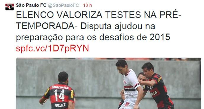Twitter São Paulo (Foto: Reprodução )