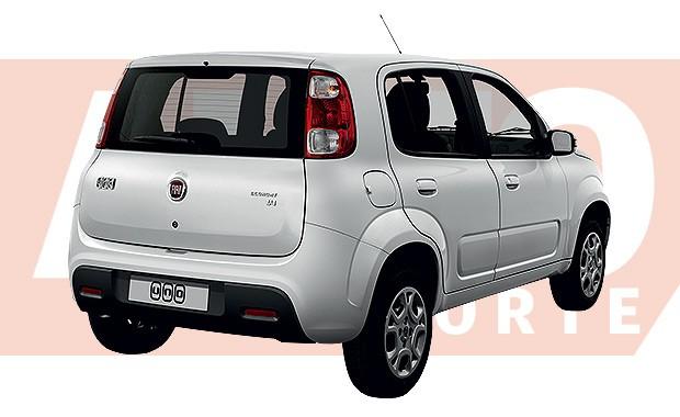 Novo Fiat Uno, que chega em outubro deste ano (Foto: João Kleber Amaral/Autoesporte)