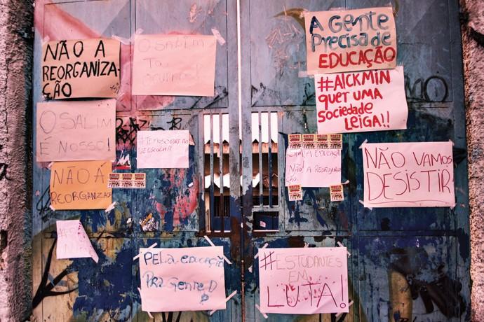 Escola Salim Farah Maluf (Foto: Ale Vianna/ Eleven/ Agência O Globo)