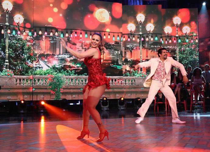 A vencedora do 'Dança 2015' superou as expectativas nas apresentações (Foto: Carol Caminha/Gshow)
