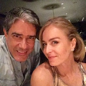 William Bonner e Angélica (Foto: Instagram/ Reprodução)