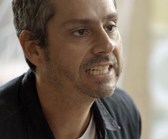 Romero explode após ofensas de Djanira e fala a verdade (Foto: TV Globo)