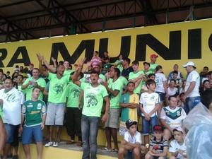 Torcida do Luverdense comemora (Foto: Assessoria Luverdense)