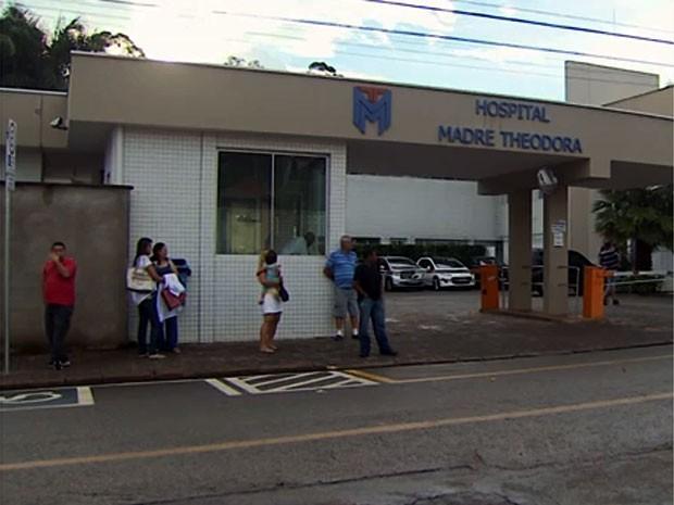 Fachada do Hospital e Maternidade Madre Theodora, em Campinas (Foto: Reprodução/ EPTV)